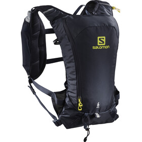 Salomon Agile 6 Backpack Set Night Sky/Sulphur Spring